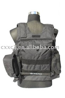 Black Military Tactical Vest