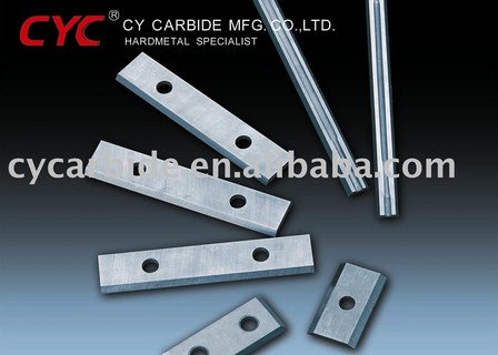Carbide indexable knives