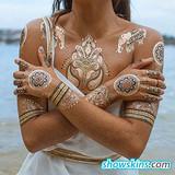 personalised tattoo stickers,Jewelry Metallic Temporary Tattoos, tattoos stickers,Temporary Tattoos - www.showskins.com
