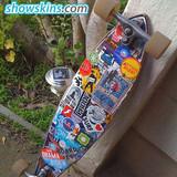 Custom Skateboard stickers,Skateboard stickers,Cool skateboard stickers Design,Surfboard Stickers,Sailboat stickers  - www.showskins.com