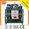Vacuum and Centrifugal Turbine purifier chilled waste oil suction machine