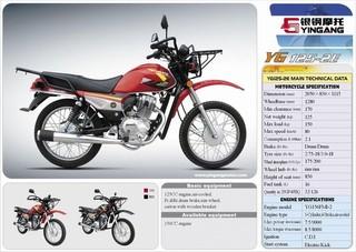 Motorcycle (125cc / 150cc Dirt Bike)