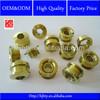 Titanium chain ring screws for bicycle