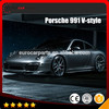 991 carbon fiber parts fit for POR- 911Series 991 type body kits carbon fiber material
