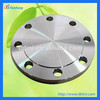 butterfly valve parts pipe fitting blind flange with 8 holes made from titanium material