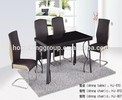 HJ-610+HJ807/812 space saving table and chair set