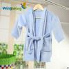 Baby bath towel robe / flannel baby bathrobe