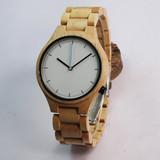 Fashion design maple wood watch men 2017