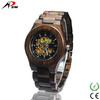 2017 Environmental high end Miyota Automatic movement wooden watches for men