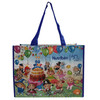 Colorful pp laminated woven bag with cartoon picture/gift woven bag