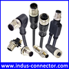 IP67 IP68 molded m12 connector waterproof cable