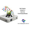 50-80 Lumens Mini Pocket DLP Projector with WiFi