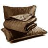 Emboridery Quilt Set-Shiny Satin