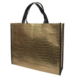 Pp non woven bag, shopping bag, metallic bag, shiny bag, promotional bag
