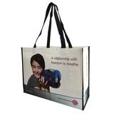 PP woven bag, shopping bag, reusable bag, eco-friendly bag, handle bag