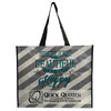 Fashionable tote bag/full color printing pp woven bag/advertising shopping bag