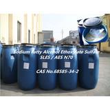 Sodium Lauryl Ether Sulphate,SLES Texapon N70
