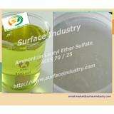 Ammonium Fatty Alcohol Ethoxylate Sulphate,ALES AESA 70% and 25%