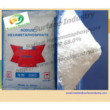 Industrial Grade Sodium Hexametaphosphate,SHMP 68% for Water Treatment