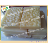 White Beeswax Slab and Pellet (B Class) for Comb Foundation