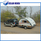 Manufacture travel trailer with caravan doors