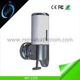 deluxe wall mounted manual soap dispenser for hotel