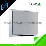 wall mounted stainless steel toilet tissue dispenser