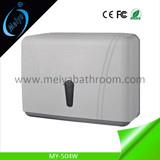 wall mounted N fold toilet tissue dispenser