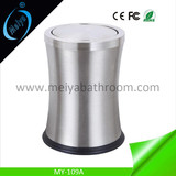 2018 new design stainless steel garbage can with covers/lid