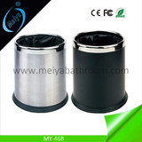double layer garbage bin for toilet