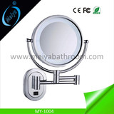 LED magnifying mirror for hotel