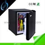 36L small refrigerator for hotel, mini refrigerator China manufacturer