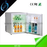 48L wholesale small fridge for hotel, mini fridge with lock
