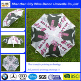 21inches 8ribs  wholesale price heat transfer printing umbrella from O Loreal  adudit factory