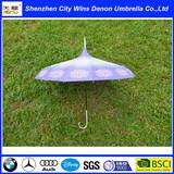 southeast asia style comfortable handle straight stick pagoda umbrella