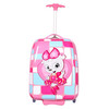 Pink ABS and PC Material Hard Luggage Best Carry On Luggage for Sale