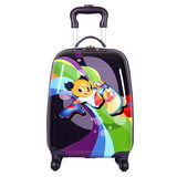 Shanmao Cartoon Hard Lightweight Suitcase Childrens Travel Suitcase