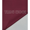 wine red twill fabric/100% Pure wool hat fabric 001-1-4/baseball cap fabric/basketball hats fabric/sports hat fabric