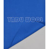 sports hat fabric/100%Pure wool hat fabric 001-1-2/baseball cap fabric/basketball hats fabric/light blue twill fabric