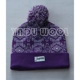 Cheap winter warm beanie cap custom knitted hat