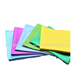Microfiber Glass/Mirror Cloths, Made of 80% Polyester/20% Polyamide, Cleaning Ability/Durable