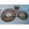 handpainted stoneware dinnerware set