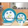 handpainted dinnerware  set