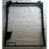 Daewo220-7  Excavator digger front upper  glass windshield holder frame