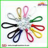 Colorful Leather Braided Rope Keychain Car Leather Key Holder Decorative Key Ring