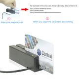 Support Microsoft And Mac System Smart 3 Tracks USB Magnetic Card Reader