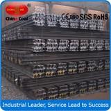 Standard 24kg Light Rails Steel Products 55Q 50Q Q235 Steel Rails