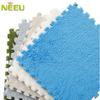 NF303009F-eva anti-slip fluffy fleece puzzle flooring tile