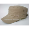 fashion heavy brush cotton military army service side caps