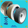 Solid Tires Non marking tires for aerial work platforms